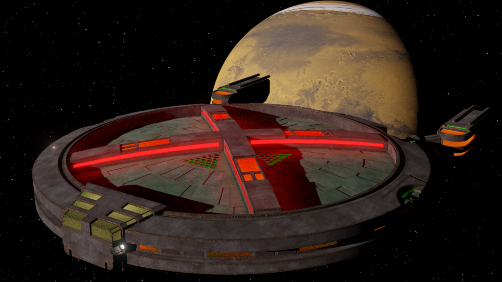 Martian Manhunter Starship